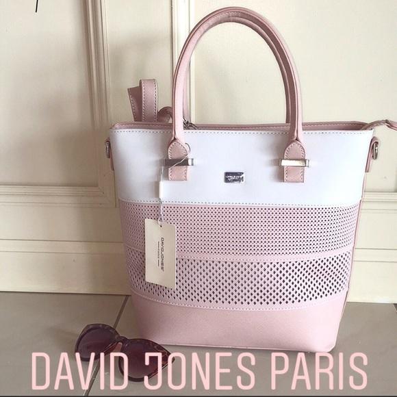 18adfad60b92 DAVID JONES PARIS Bags | Price Dropblush Pink Bag | Poshmark